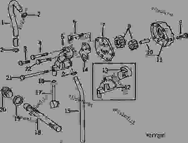 john deere 4320 pto parts diagram