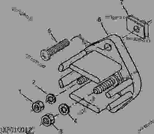 ELECTRICAL JUNCTION BLOCK - TRACTOR John Deere 7410 - TRACTOR - 7210