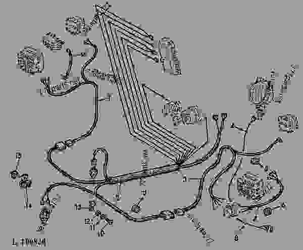 1020 John Deere Wiring - Wiring Data Diagram