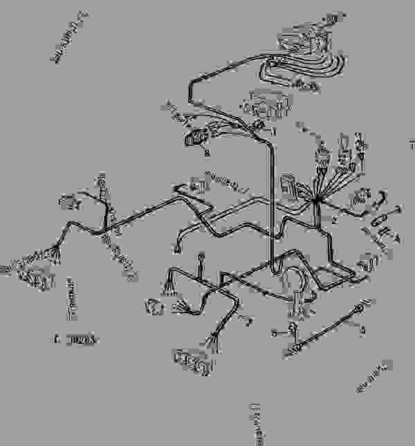 34 john deere z225 belt diagram