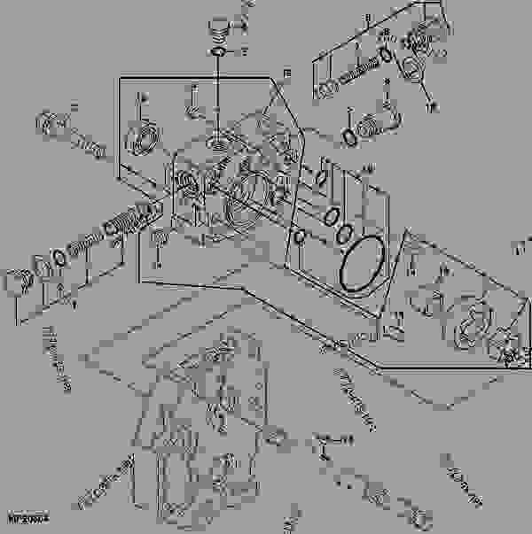 HYDROSTATIC PUMP - TRACTOR, COMPACT UTILITY John Deere 4100