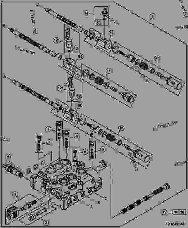john deere 320 skid steer wire diagram