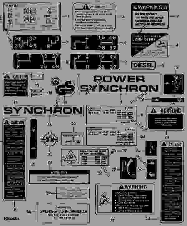 85 john deere fuse box diagram