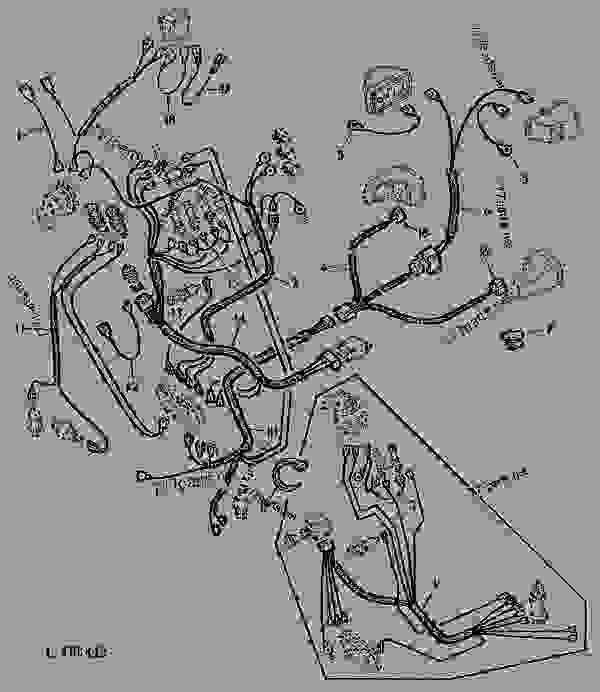 john deere 1020 starter coil wiring diagram