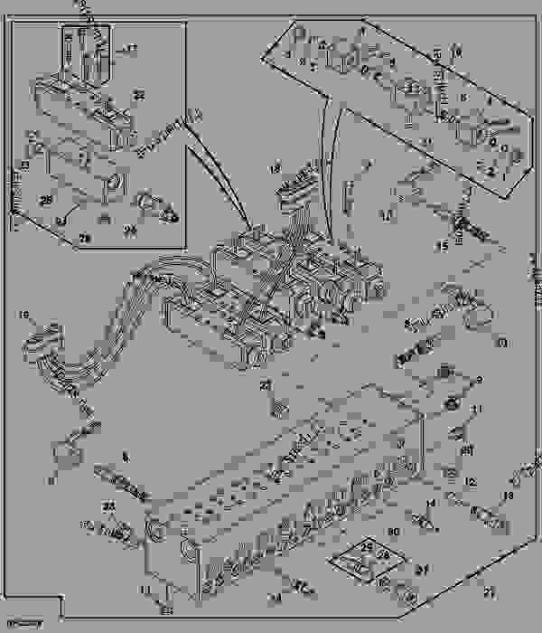 john deere 4930 cab wiring schematics