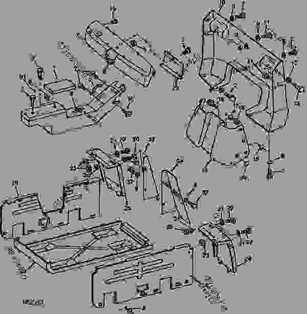 john deere tractor wiring diagram 1040