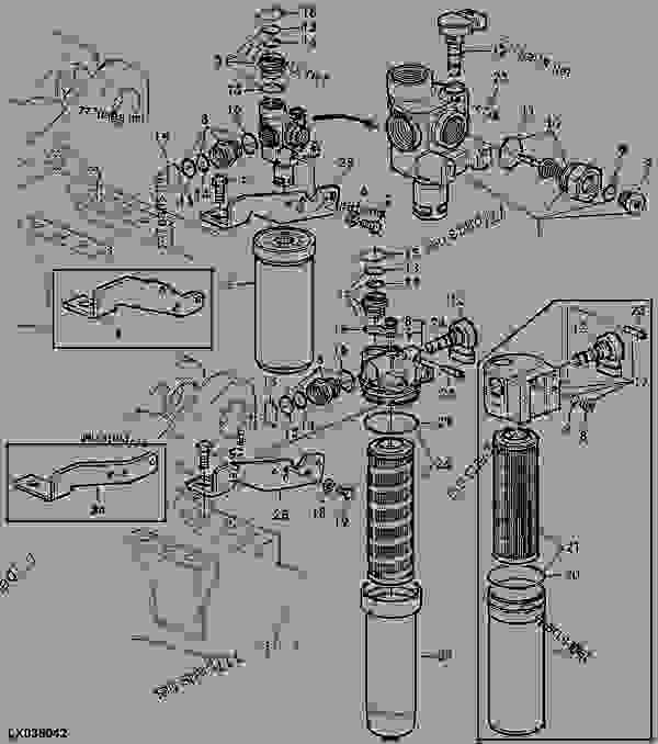 case fuel filters