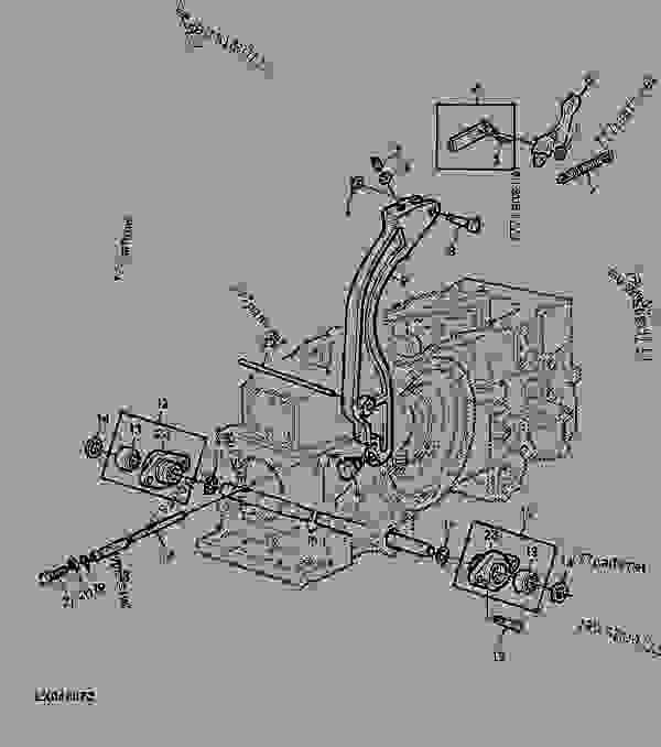 john deere model b engine diagram