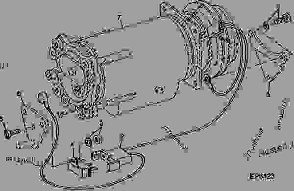 john deere model h wiring diagram