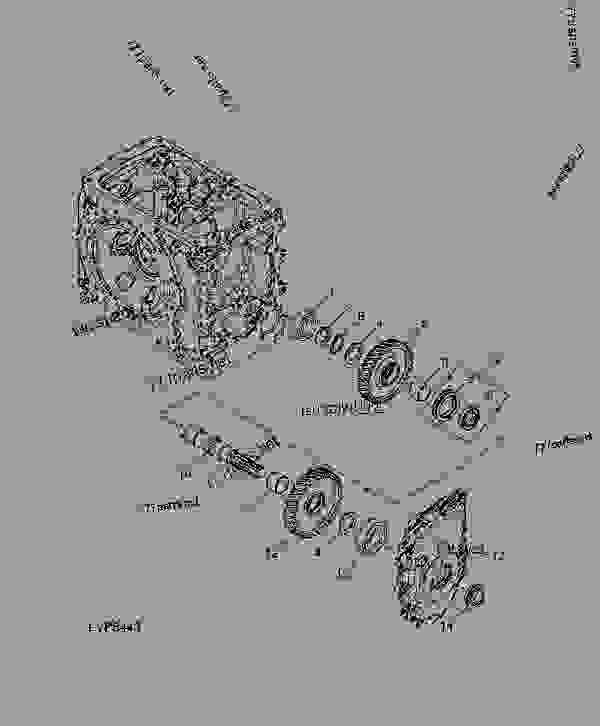 yanmar tractor shifter diagram