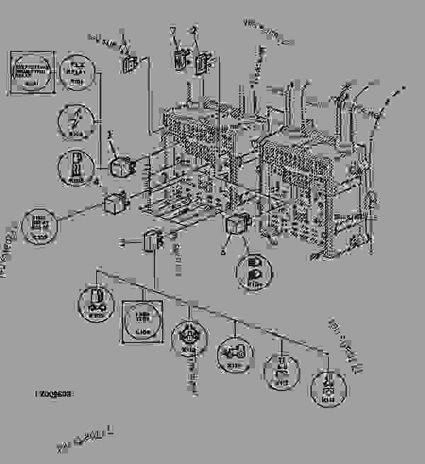 john deere 7810 fuse box diagram