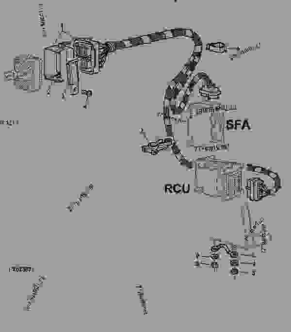 john deere wiring schematic 6310