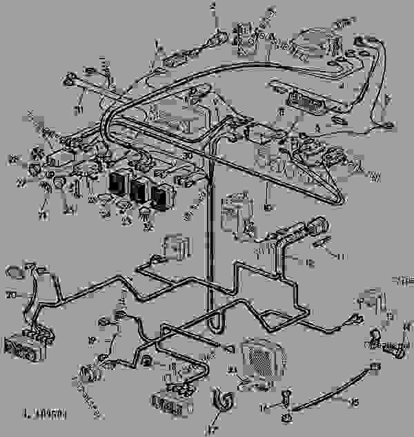 john deere tractor wiring system