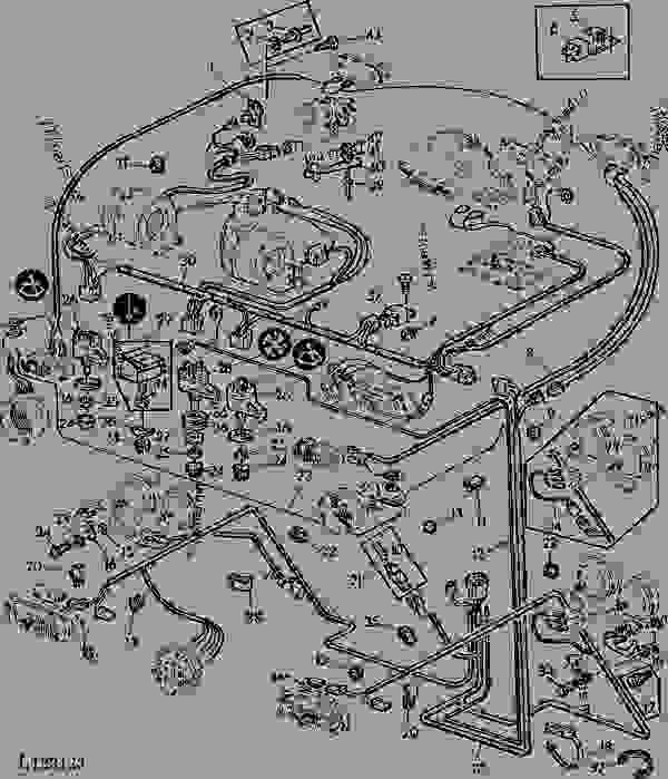 john deere 4450 wiring diagram free download