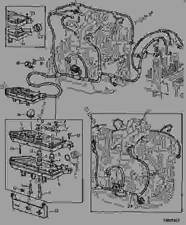 ENGINE WIRING HARNESS - TRACTOR John Deere 6400 - TRACTOR - 6300