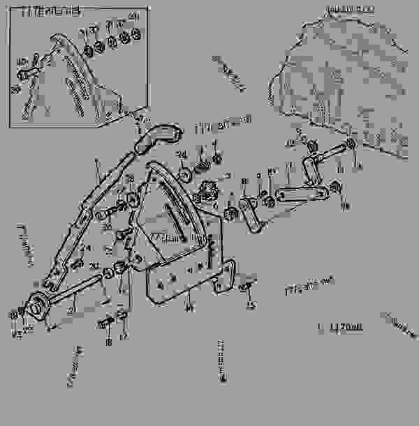 schema cablage for john deere 4440