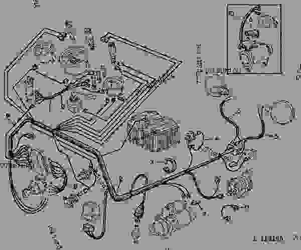 john deere 1020 wiring schematic