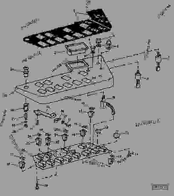 john deere 9610 combine wiring diagram