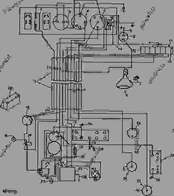 1910 ford tractor electrical ledningsdiagram