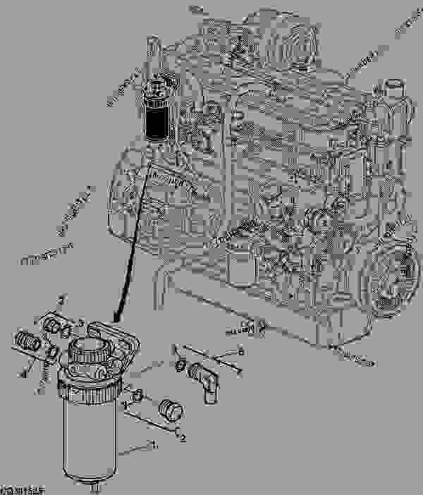john deere fuel filters re525802