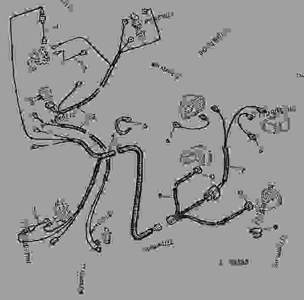 John Deere 4240 Wiring Harness Wiring Diagram