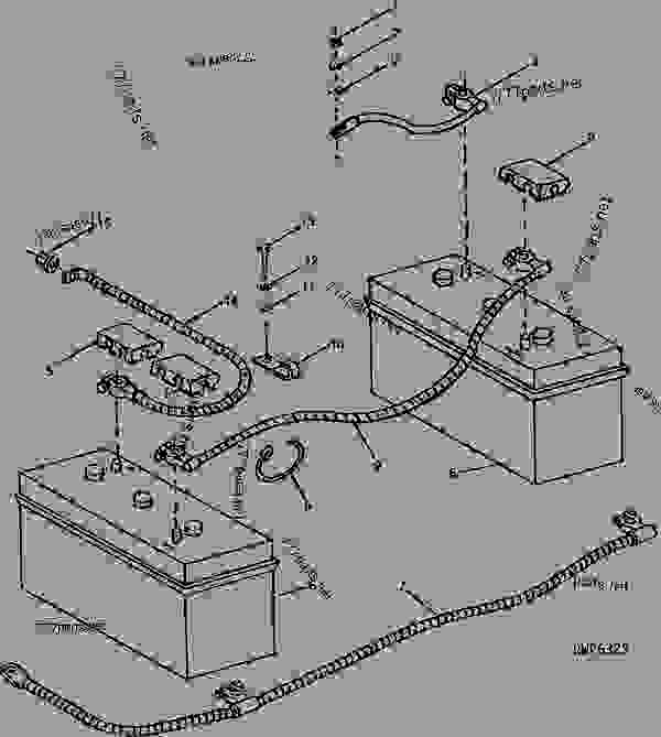 john deere 4450 wiring diagram