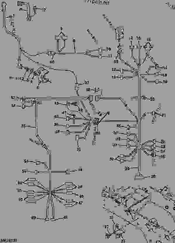 john deere 4250 wiring harness