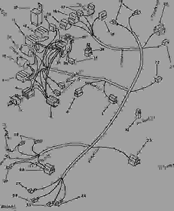 john deere 4020 wiring diagram lights fenders in for