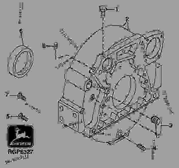 john deere marine diesel engine parts