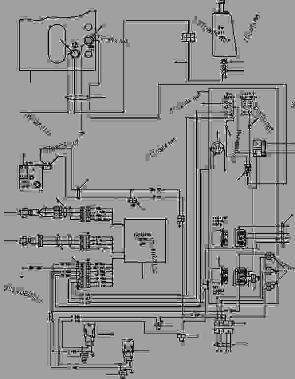 komatsu solenoid wiring diagram
