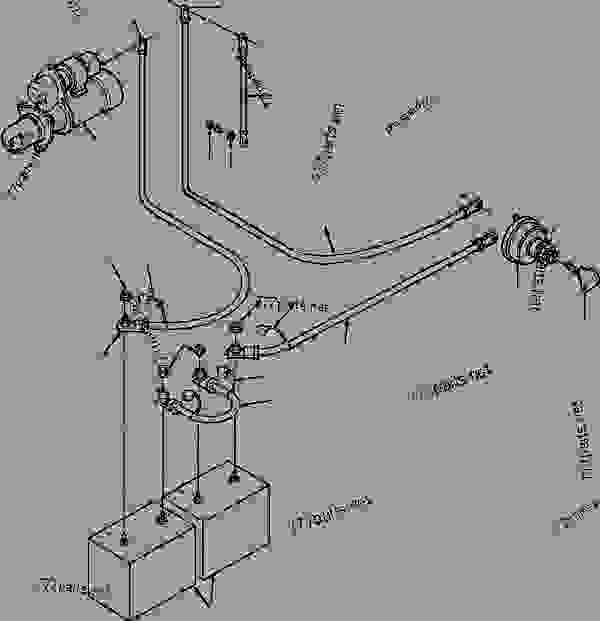 motor grader battery diagram