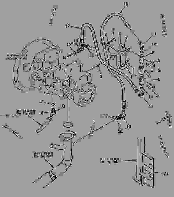 komatsu pc300 wiring diagram