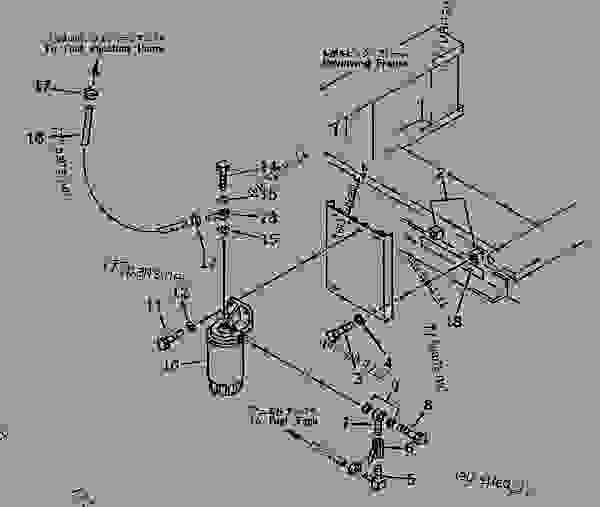 komatsu fuel filters