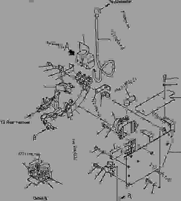 wiring komatsu schematics wa250 6