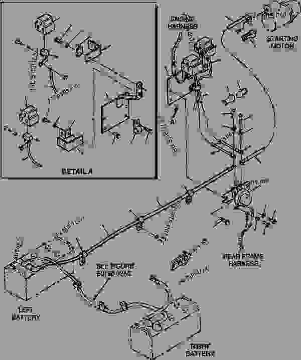 wiring harness komatsu