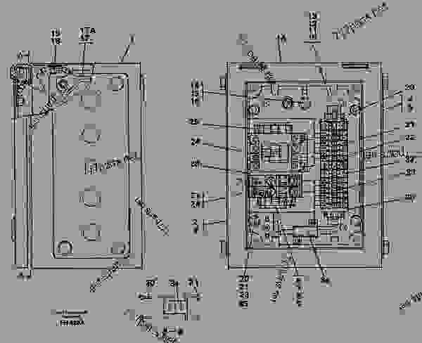 circuit breaker or fuse box