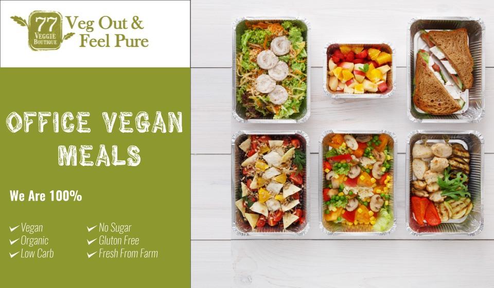 Vegan Office Meals - 77 Veggie - Healthy Vegan Meal Plans