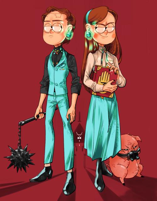 Gravity Falls Anime Wallpaper Reverse Pines On Tumblr