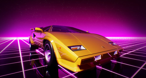 Chill Wave Car Wallpaper Neons Tumblr