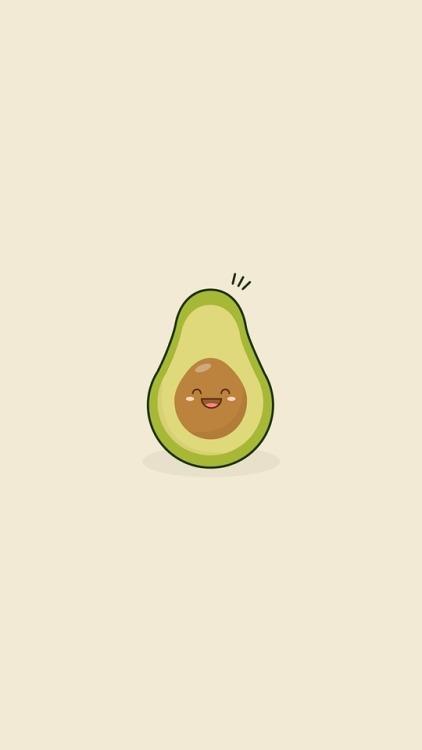 Cute Wallpapers Puppy Drawing Cute Avocado Tumblr