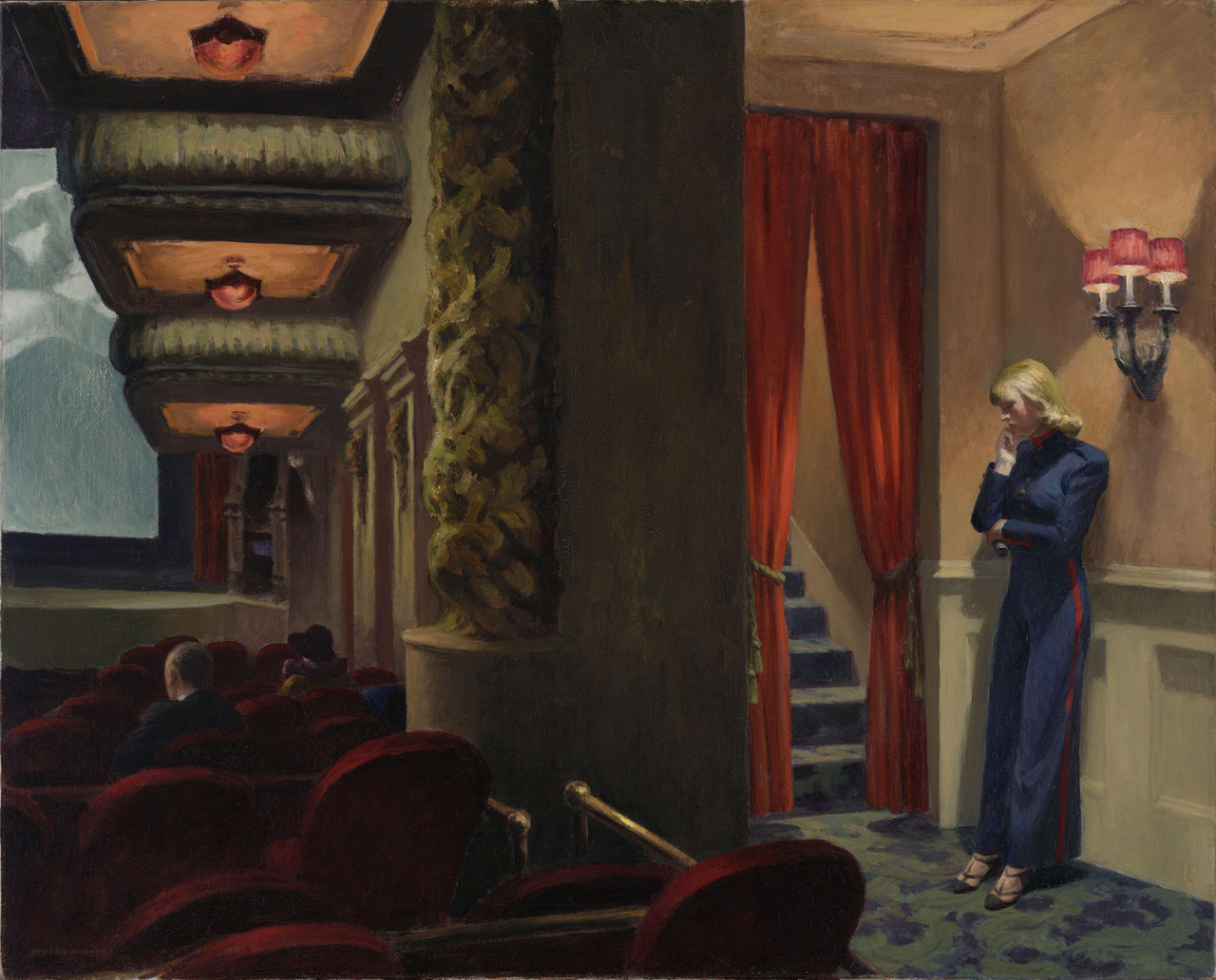 La Chambre A New York Edward Hopper Edward Hopper New York Movie 1939 óleo Sobre El