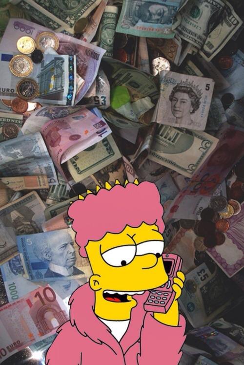 Gucci Mane Iphone Wallpaper Bart Simpson Wallpaper Tumblr