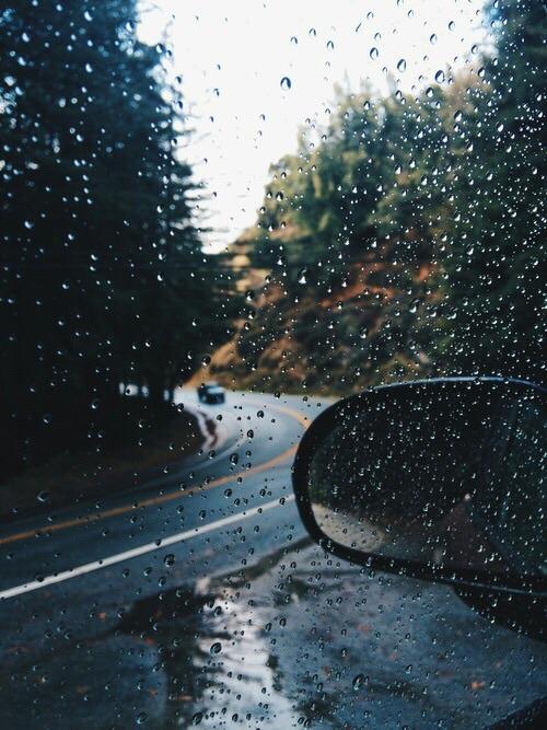 Falling Down Wallpaper Rain Aesthetic Tumblr