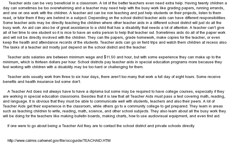 a teacher essay we genuinely care who they become essays from school