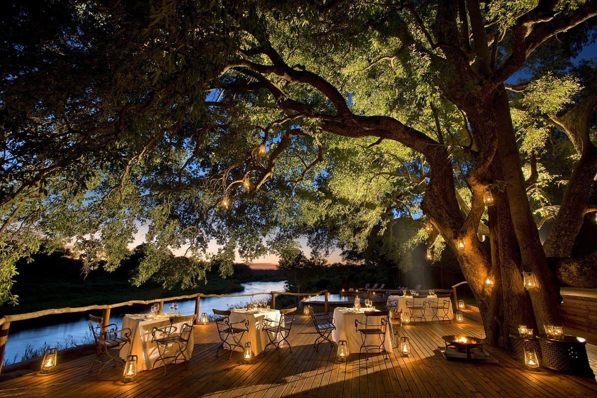 Accommodations South Africa Tinga Lodge - South Africa Perched On The Banks...