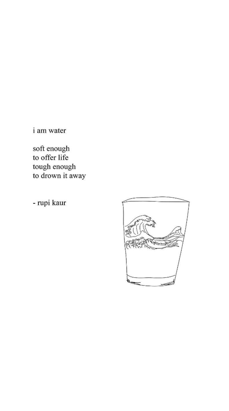 Rupi Kaur Quotes Wallpaper Milk And Honey Wallpapers Www Pixshark Com Images