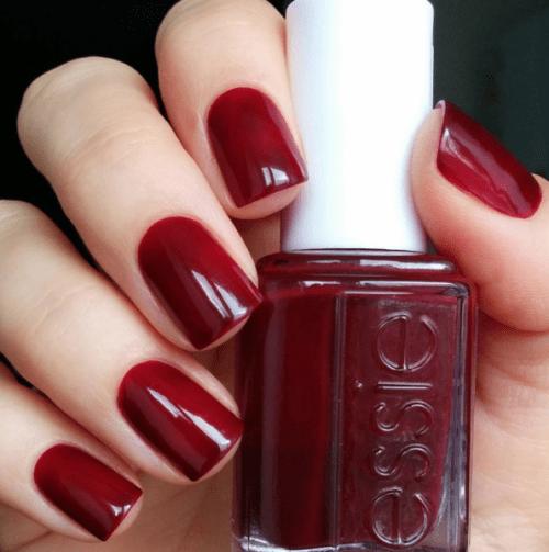 Wine Red Nail Polish Tumblr
