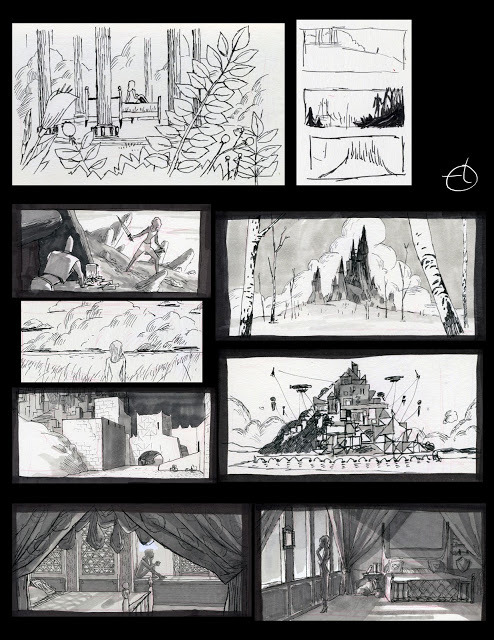 THE GREAT PROMISE Concept art Pinterest Storyboard, Ink - film storyboards