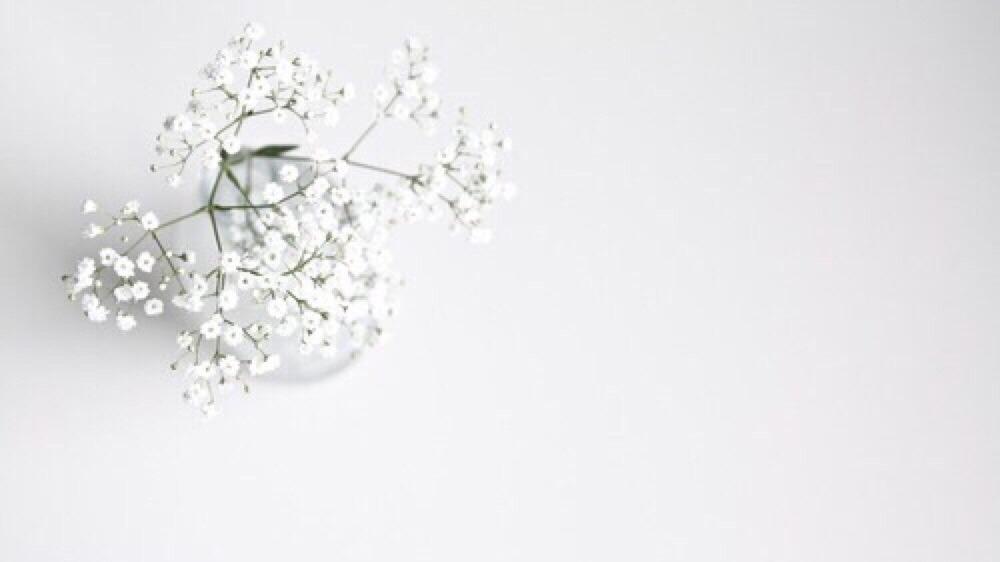 Minimalist Wallpaper Fall White Like My Soul