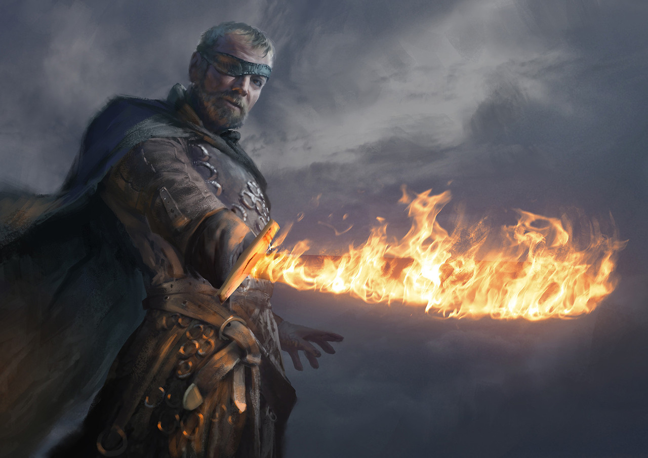 Tyrion Lannister Quotes Hd Wallpaper Badass Digital Painting Of Beric Dondarrion Game Of